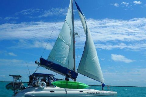 1996 Fountaine Pajot Athena 38