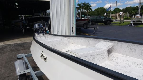 Gheenoe 15'4 HI SIDER With 9.9HP & Trailer