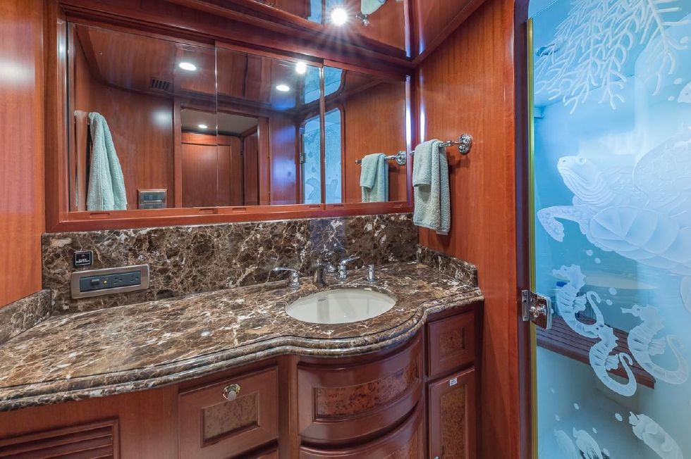 VIP stateroom shower/head