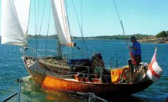 1960 Classic Wooden Yacht