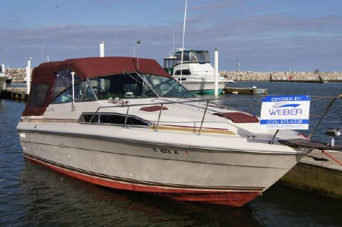 1987 Sea Ray 270 - Starboard side