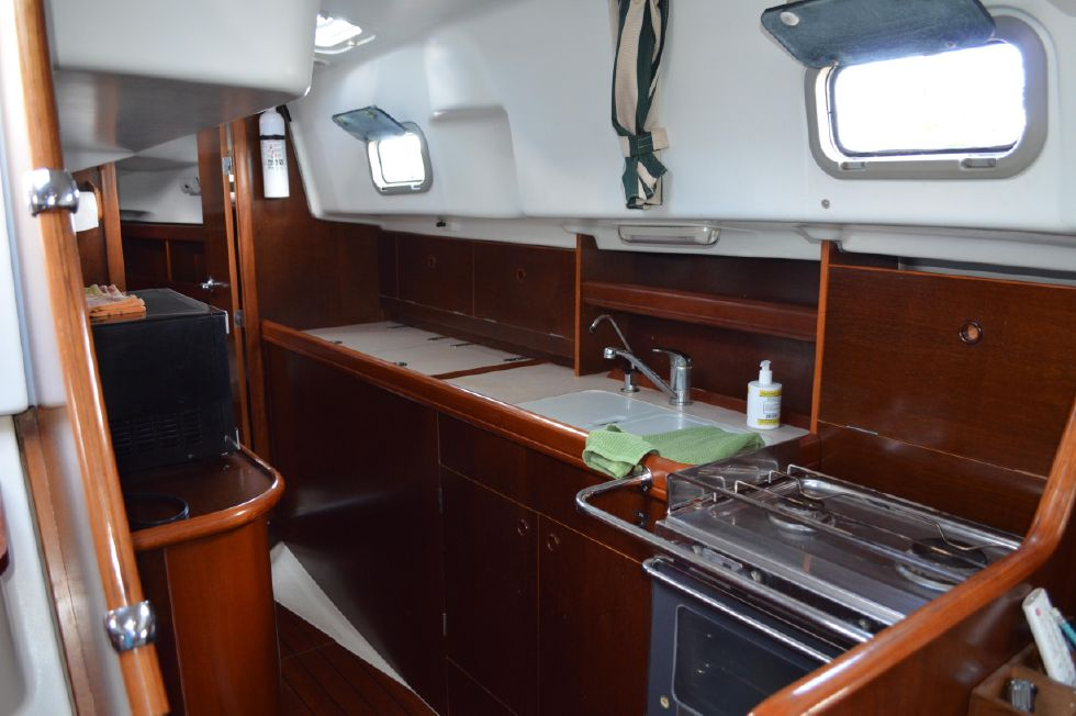 Beneteau 36 CC Galley