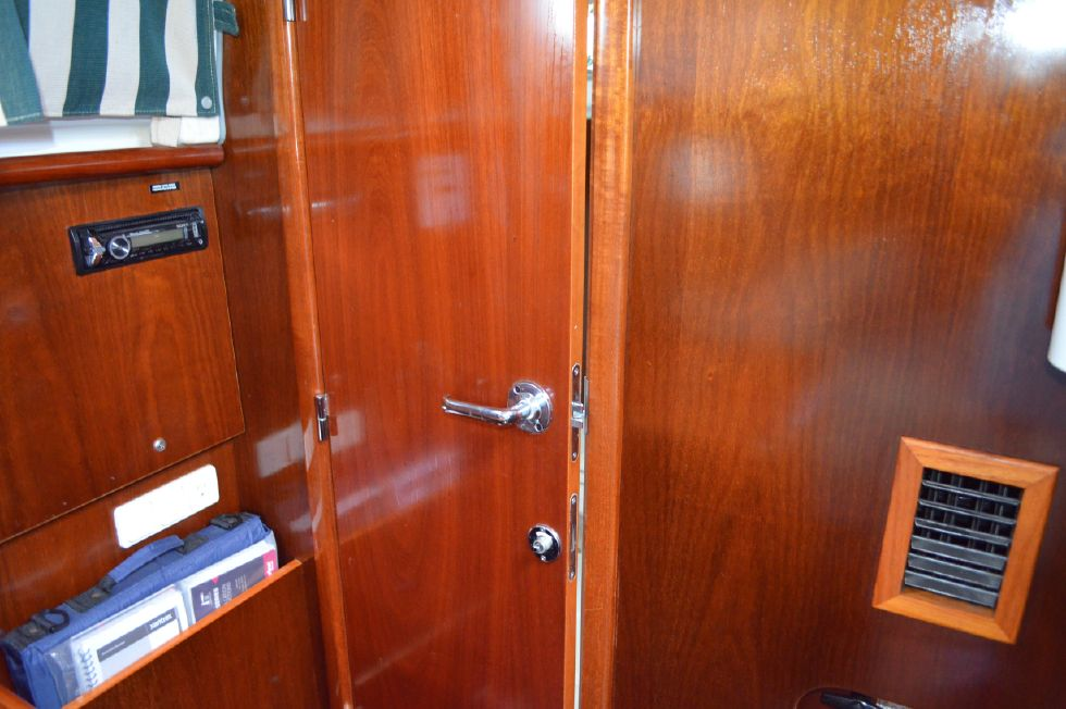 Beneteau 36 CC Head Door from Salon
