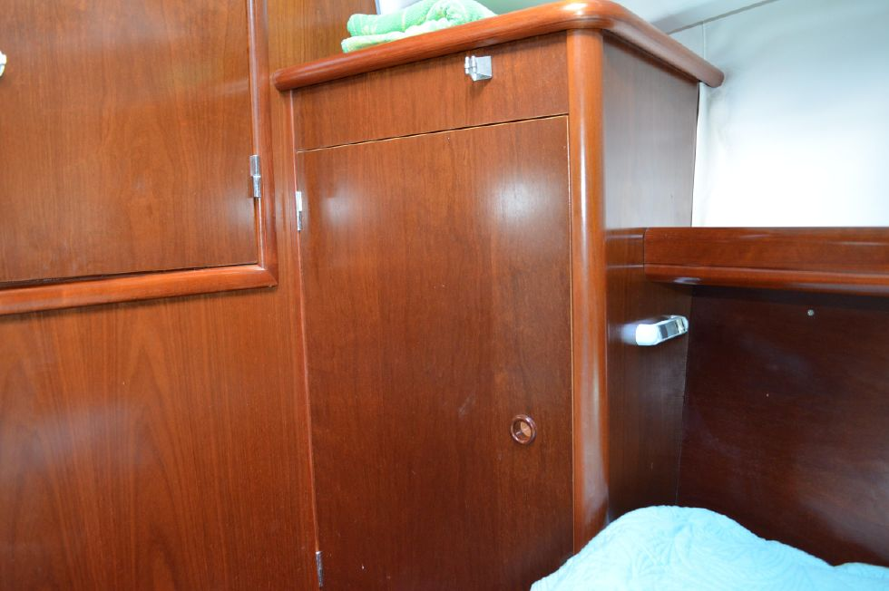 Beneteau 36 CC Forward Berth Port Hang Up Closet