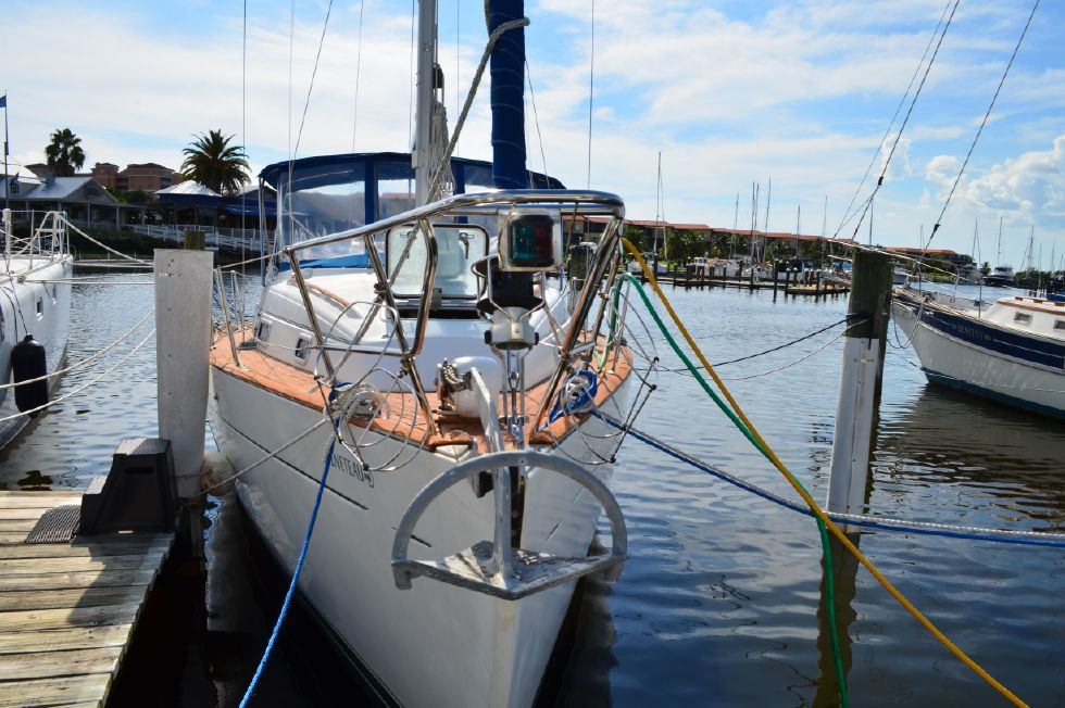 Beneteau 36 CC At the Dock Bow View