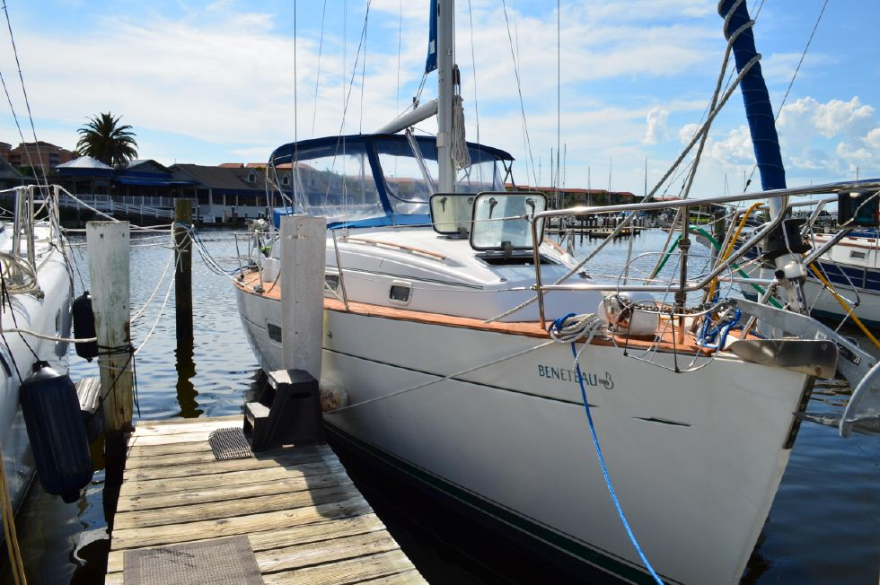 Beneteau 36 CC At the Dock STBD Bow Quartering