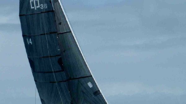 Corsair 36 Trimaran sailing with one reef