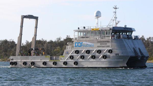 Custom 34m Catamaran