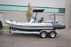 2020 Zodiac Open 6.5 PVC T-Top 150hp In Stock
