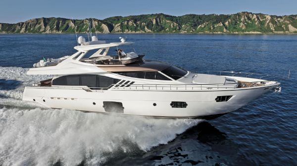 Ferretti Yachts 870 Manufacturer Provided Image: Ferretti 870