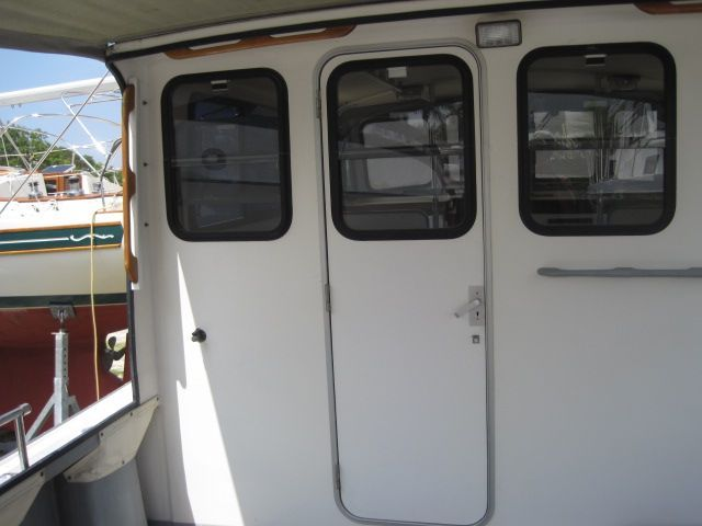 Pilothouse door