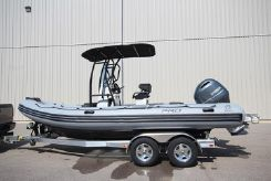 2020 Zodiac Pro 6.5 PVC T-Top 150 hp In Stock