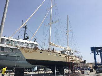 1991 Custom 23m Epoxy Hull