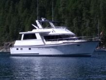 1988 Ocean Alexander Cockpit Motor Yacht