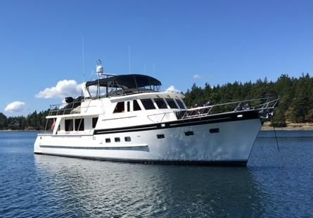 Grand Alaskan Raised Pilothouse Motoryacht