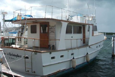 1981 Cheoy Lee 50' Europa Pilothouse - Exterior