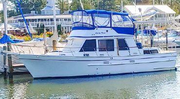 1987 Monk 42 Trawler