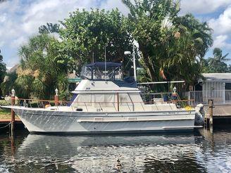 """1988 Monk """"42"""" Classic Trawler"""