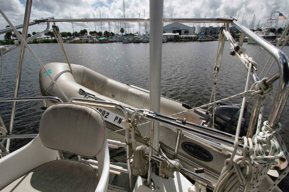 Catalina 42 Davits w/Dinghy