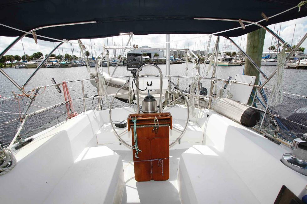 Catalina 42 Cockpit