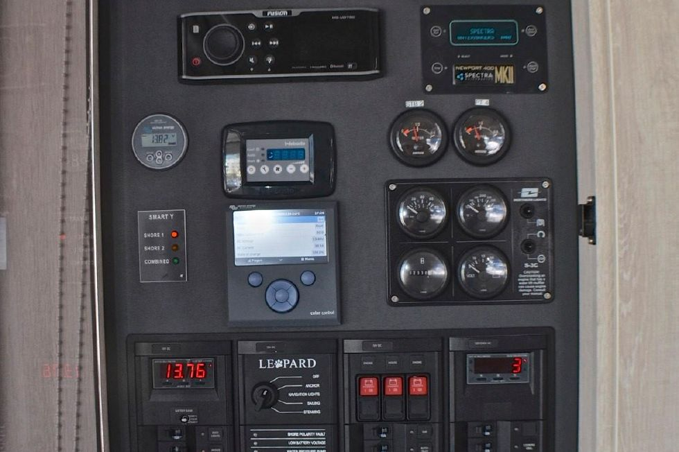 2018 Leopard 58 - Control Panel in Salon