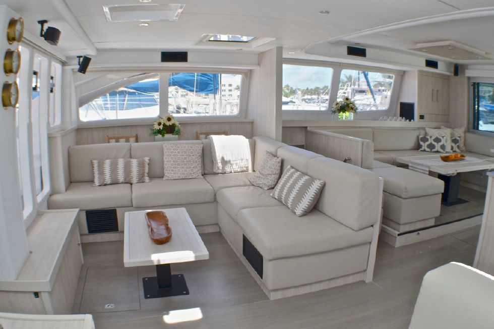 2018 Leopard 58 - Starboard forward seating