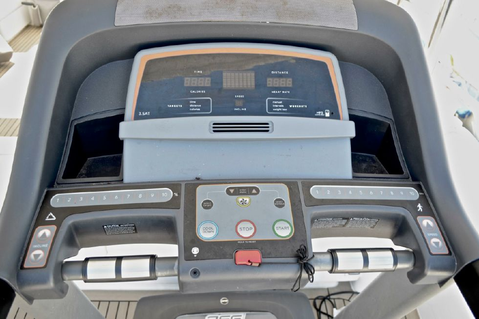 2018 Leopard 58 - Treadmill on Flybridge (Removable)