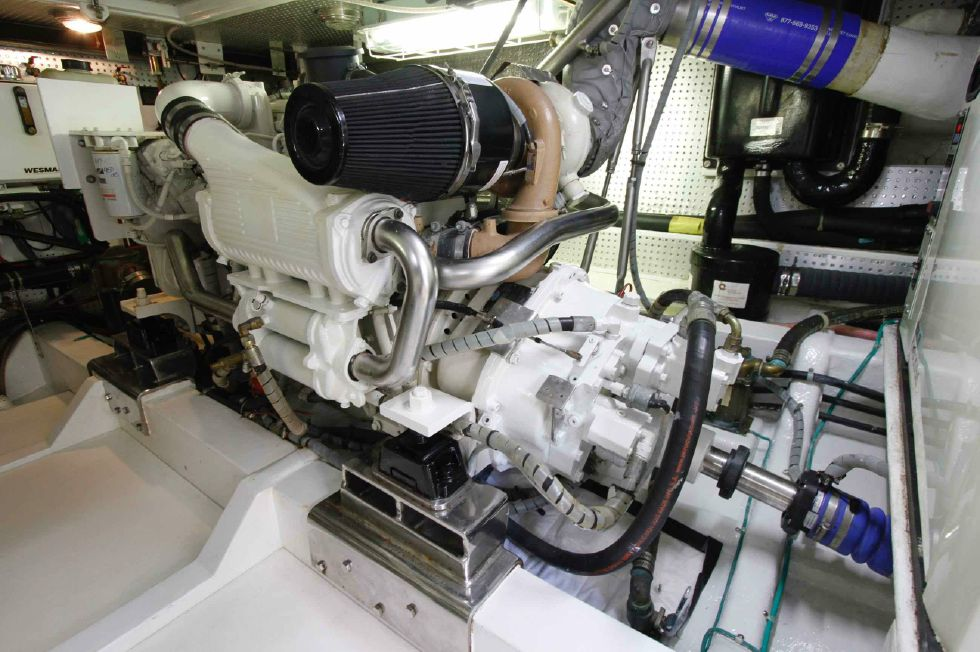 Hampton 558 Pilothouse Starboard Engine