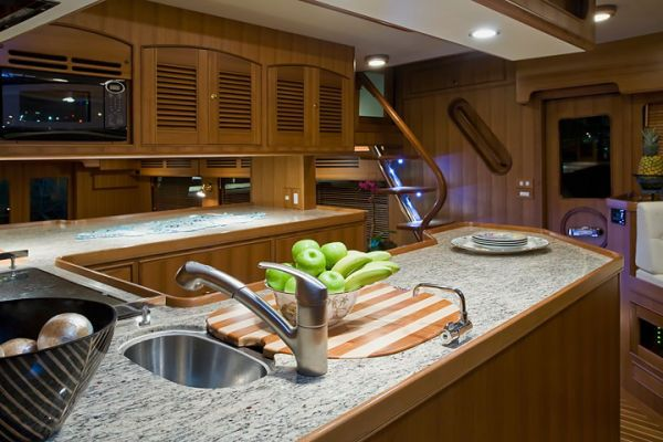 2009 Marlow 61 E - Galley