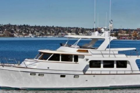 2009 Marlow 61 E - Profile Underway
