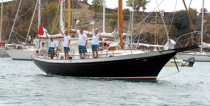 1970 Cheoy Lee Clipper 42 - At anchor