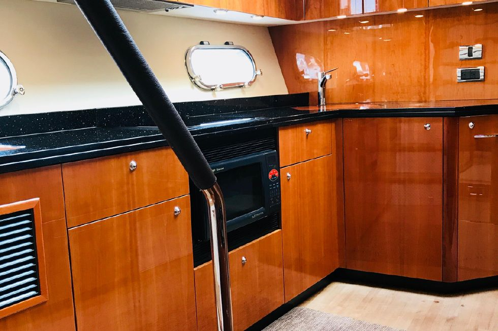 2011 Sunseeker Manhattan 60 - Galley Area