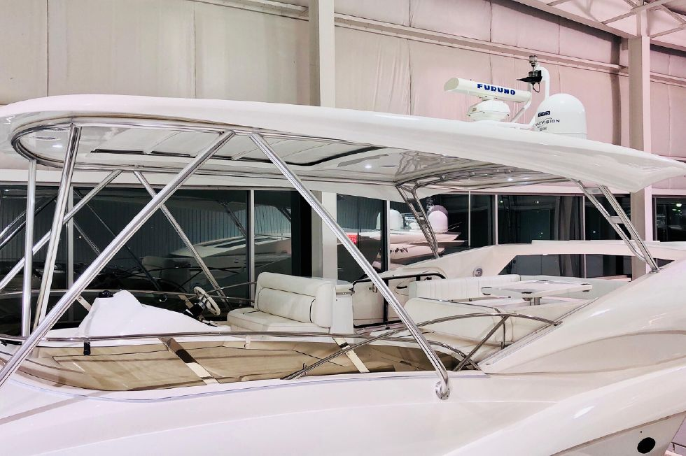 2011 Sunseeker Manhattan 60 - New Custom Hardtop w/ Electric Awning