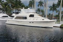2004 Hampton 558 Pilothouse