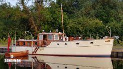 1938 Custom Saunders Roe Medina Class TS Motor Yacht