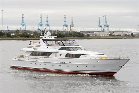 1993 Derecktor Motoryacht 114 Boats for Sale - Edwards Yacht