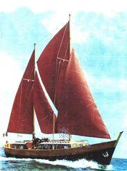 1967 Custom Cantiere MOLTEDO  di Genova GOLETTA PEXINO 3