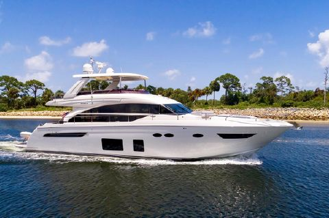 2015 Princess 68 Flybridge