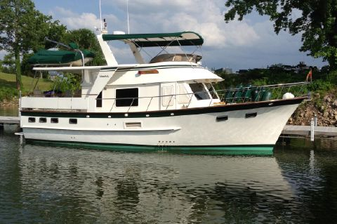 1999 DeFever 44 Offshore Cruiser
