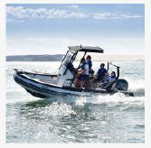 2021 Zodiac Open 5.5 PVC 115hp T-Top In Stock