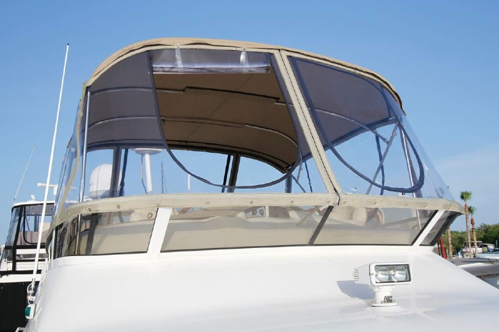 40 Sea Ray Sedan Bridge New Bimini with Stratoglass Panels