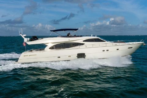 2007 Ferretti Yachts 780 Fly bridge