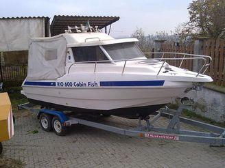 2002 Rio 600 Cabin Fish