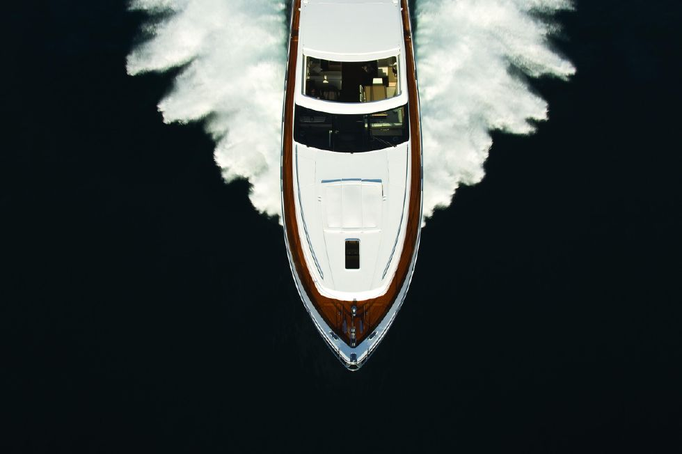 2013 Princess V78 - Manufacturer Provided Image: Princess V78 Aerial Shot