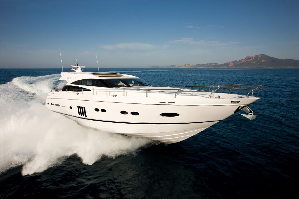 2013 Princess V78 - Manufacturer Provided Image: Princess V78