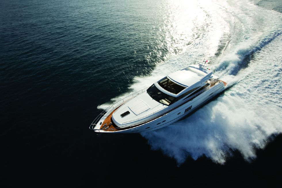 2013 Princess V78 - Manufacturer Provided Image: Princess V78 View From Above