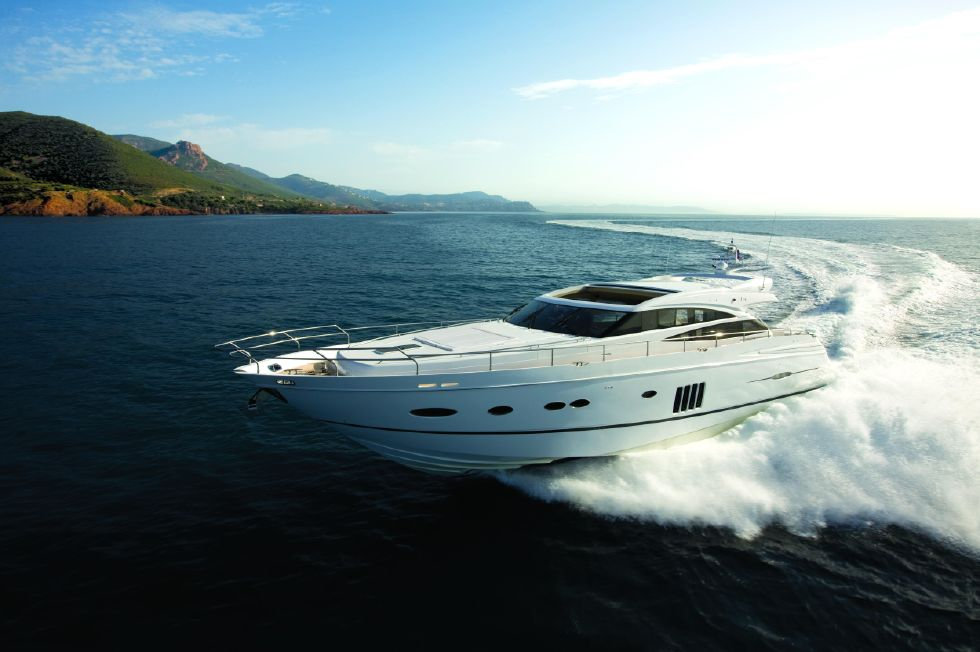 2013 Princess V78 - Manufacturer Provided Image: Princess V78 Running Shot