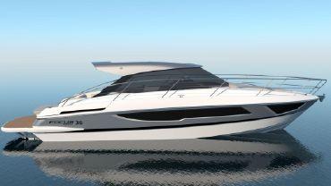 2021 Focus Motor Yachts Power 36