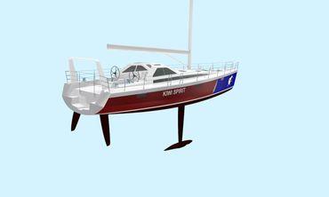 2021 Lyman Morse / Farr  Racer-Cruiser hull # 2