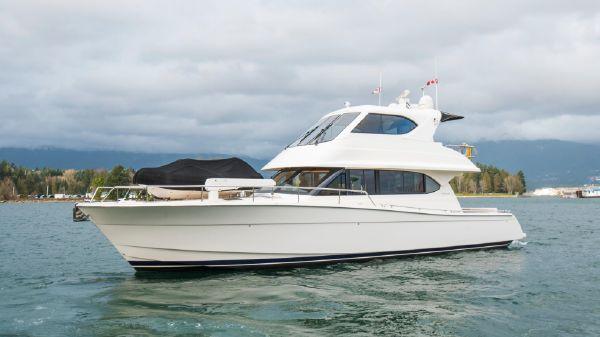 Maritimo 52 Cruising Motoryacht Fast Eddy
